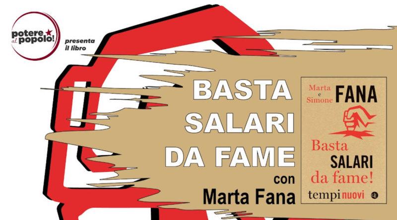 """Presentazione libro """"Basta salari da fame!"""" di Marta Fana 6"""
