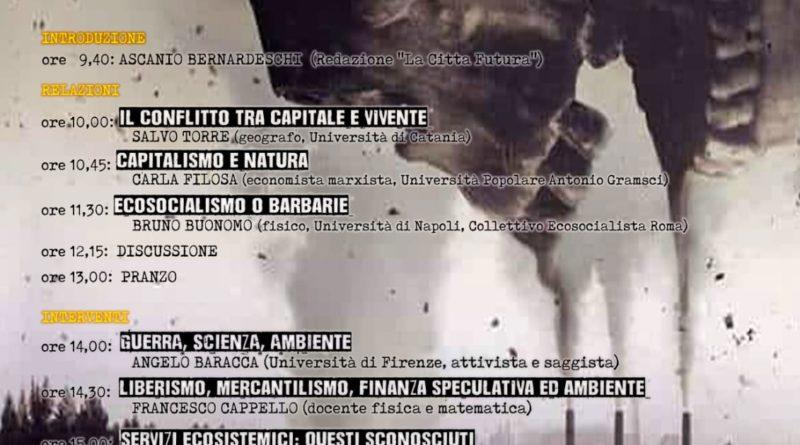 Lari, 1° marzo: Capitalismo ed emergenza climatica 4