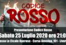 Presentazione Codice Rosso al Caffè Letterario Le Cicale Operose