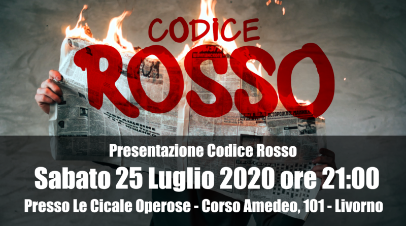 Presentazione Codice Rosso al Caffè Letterario Le Cicale Operose 2