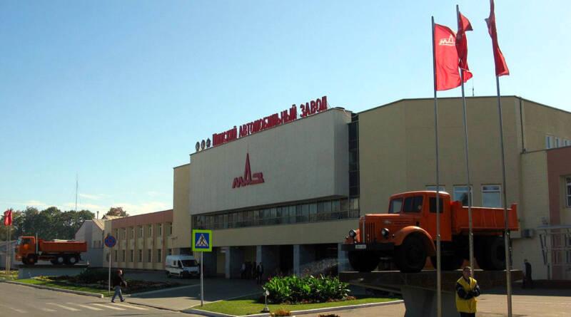 MAZ factory in Minsk