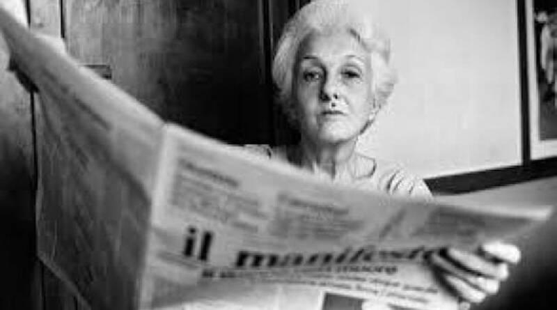 Ciao Rossana, eroina comunista dell'opposizione all'invasione russa della Cecoslovacchia 1