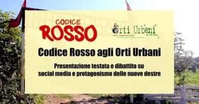 Codice Rosso agli Orti Urbani di Livorno