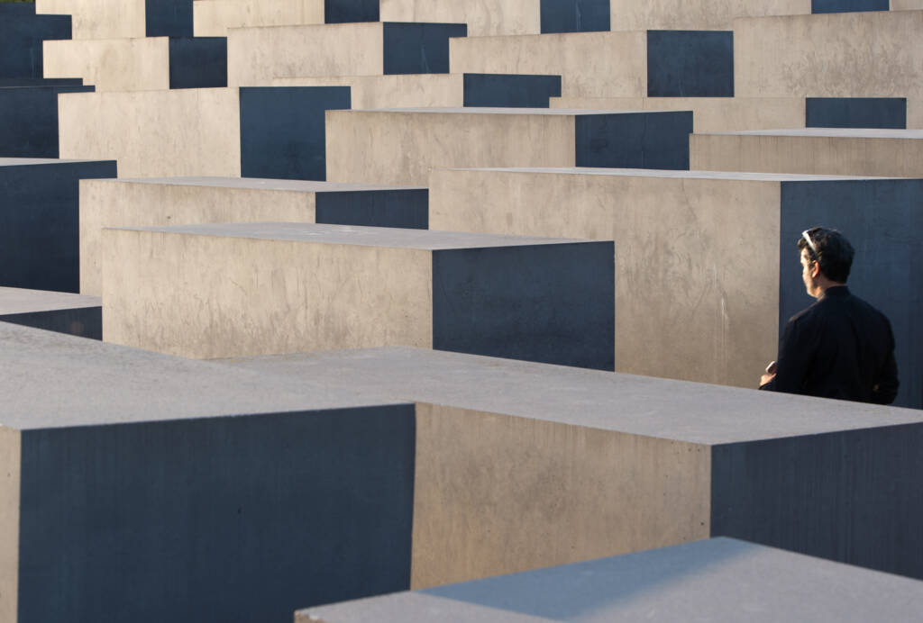 Il Memoriale per gli ebrei assassinati d'Europa, Berlino, il 21 settembre 2016. - Monika Skolimowska, Dpa/Ap/Ansa