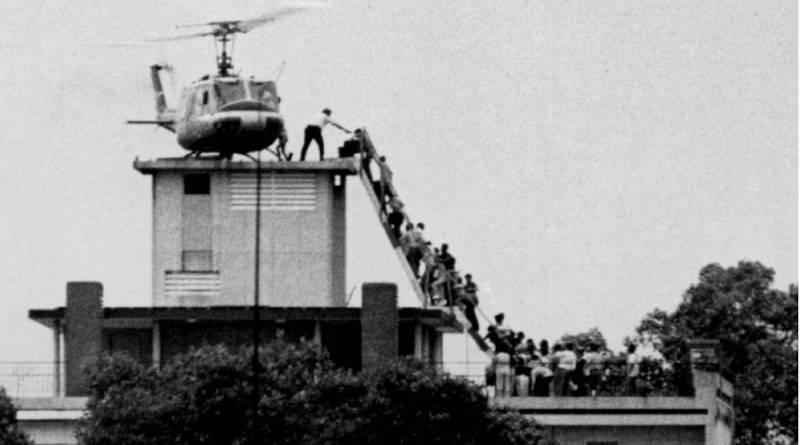 Fuga dal quartier generale della CIA a Saigon