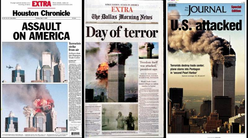 11 settembre 2001: guerra asimmetrica ed evaporazione della realtà 1